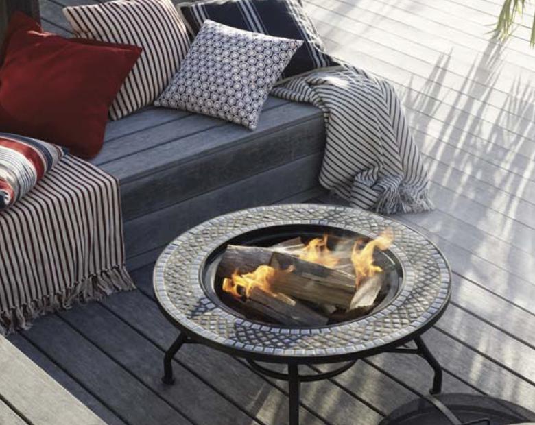 wood burner garden